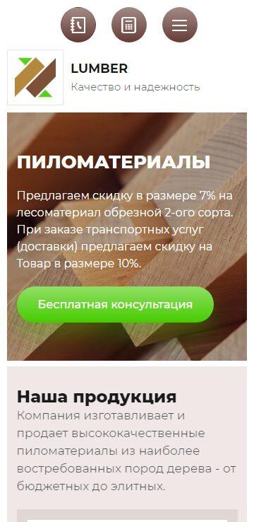 Мобильная версия готового решения #2776581